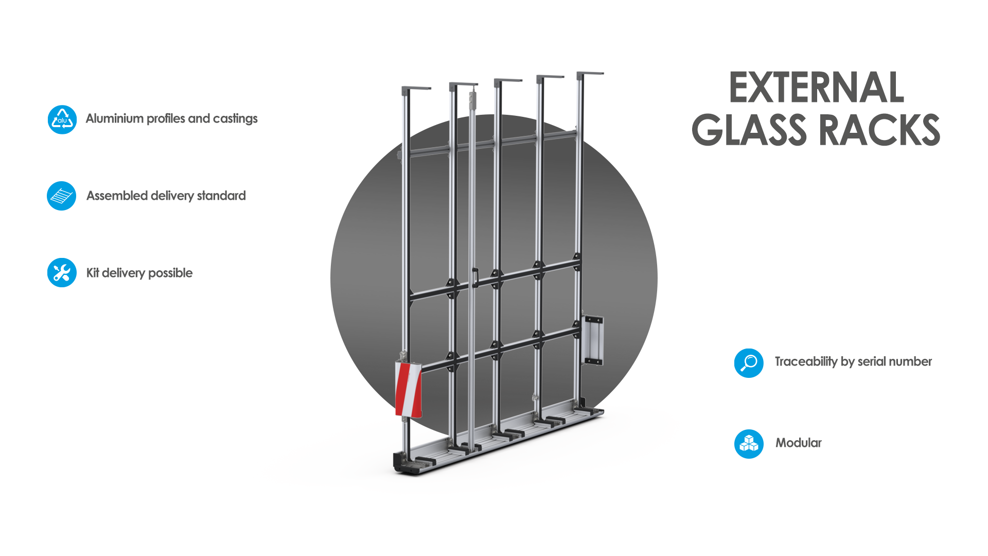 mobietec external glass rack